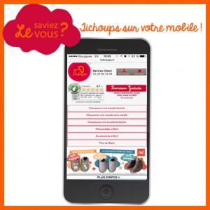 Tichoups sur votre mobile - Le saviez vous