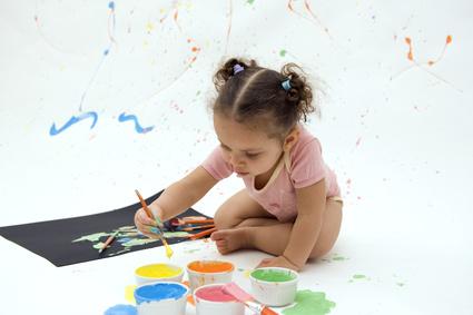 Bébé et les couleurs
